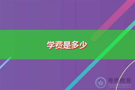 广东南方职业学院自考学费多少钱