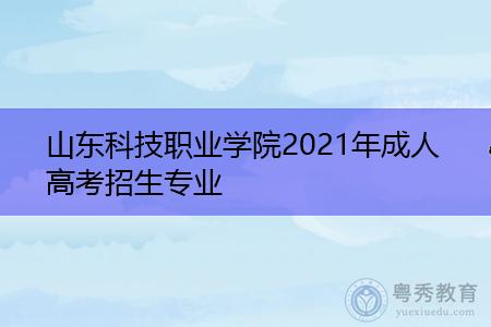 2021年山东省科技职业学院成人函授高等教育招生指南
