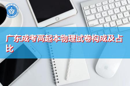 广东成考高起本物理试卷构成及占比是怎么样的?
