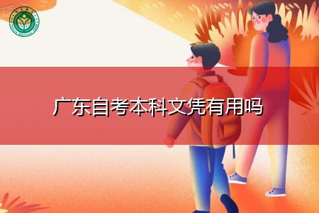 广东自考本科文凭有用吗?
