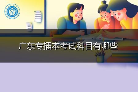 广东专插本考试科目有哪些,报考需要什么条件?