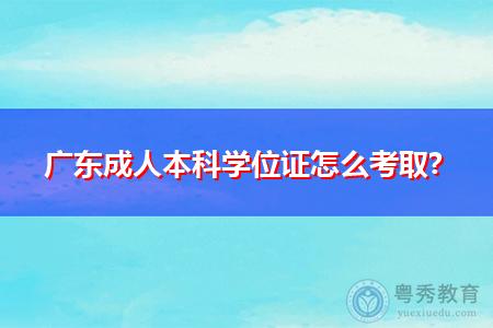 广东成人本科考取学位证需要什么条件?