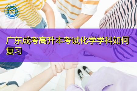 广东成考高升本化学学科如何复习备考?