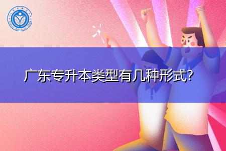广东专升本类型有几种学习形式?