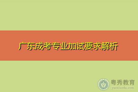 广东成考专业加试及考试时间安排